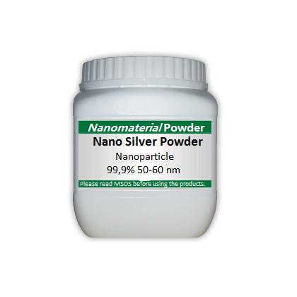 Nano Silver Powder 50-60 Nm