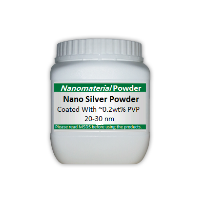 Nano Silver Powder Coated With 0 2wt Pvp 20 30 Nm Metal Basis Nanopowder And Nanoparticles Nanomaterial Powders