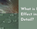 What is the lotus effect in detail An example of SiO2 and other hydrophobic materials.
